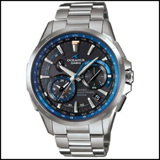 74974bd5815 Phaze-one  OCW-G1000-1AJF CASIO Casio OCEANUS Oceanus men s Watch full  metal GPS hybrid solar radio watch world 6 smart access with regular  domestic ...