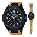 カシオ Gショック Gスティール ソーラー 電波 時計 メンズ 腕時計 GST-W120L-1BJF