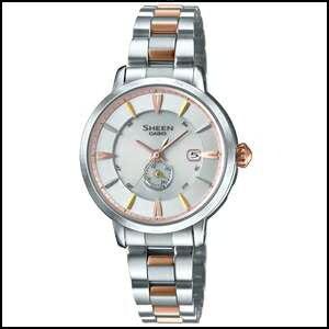 CASIO カシオ シーン ヴォヤージュシリーズ ソーラー 電波 時計 レディース 腕時計 SHW-1800BSG-7AJF