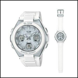 新品 即日発送 カシオ ベイビーG ジーミズ ソーラー 電波 時計 レディース 腕時計 MSG-W100-7AJF