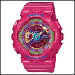 新貨即日發送卡西歐嬰兒G dejianakuotsu鐘表女士手錶BA-112-4ADR