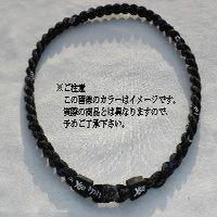二つ編みネック【X30×X50】:55cm仕上がり