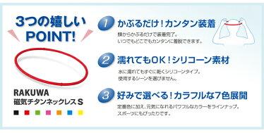 【アウトレット】ファイテンRAKUWA磁気チタンネックレスS