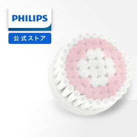 フィリップス ビザピュア 替えブラシ 敏感肌用ブラシ ホワイト/ピンク SC6021/00