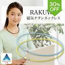 【30%OFF】 ファイテン RAKUWA磁気チタンネックレス