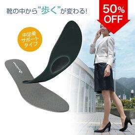 【50%OFF】 ファイテン インソール 中足骨サポートタイプ 【メール便】