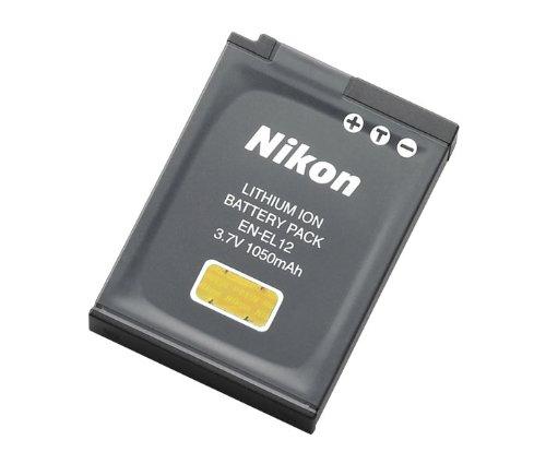 Nikon ニコン EN-EL12 純正  S8200などに 送料無料・あす楽対応【メール便】 ENEL12カメラバッテリー 充電池