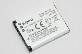SANYO サンヨー DB-L80 バッテリーパック 純正品   送料無料【メール便の場合】 DBL80充電池