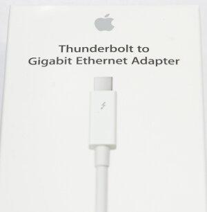 アップル純正AppleThunderbolt-ギガビットEthernetアダプタMD463ZM/A国内純正品送料無料・あす楽対応【メール便】