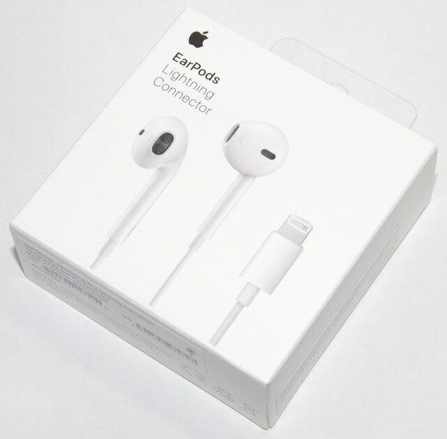 アップル純正 Apple EarPods with Lightning Connector MMTN2J/A 国内純正品 iPhone/iPad/iPod対応 あす楽対応