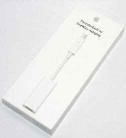 アップル純正 Apple Thunderbolt - FireWireアダプタ MD464ZM/A 国内純正品 送料無料【メール便の場合】