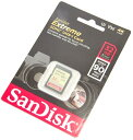 SanDisk サンディスク SDHCカード Extreme 32GB 海外パッケージ版 Class10 UHS-I V30 90MB/s (SDカード・メモリーカード) 送料無料【メール便の場合】