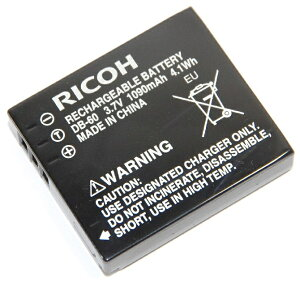 RICOHリコーDB-60純正リチャージャブルバッテリー【DB60充電池】DB-65同等品送料無料