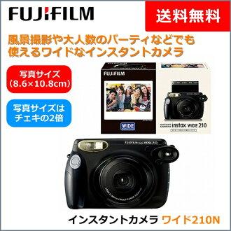 富士胶卷instax宽大的照相机210 N(因斯税宽大的WIDE 210立即婚礼活动派对富士firumuchieki)