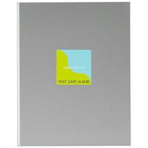 フジカラー アルバム ポケット ポストカードアルバムB5 [ 120枚収納 ] ハガキ 101~150枚 グレー