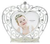 20%OFFフォトフレームミニサイズMJ74-H-SV/PKラドンナティアラハート写真立て女の子お姫様クリスタルブライダルLADONNA
