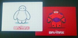 ナカバヤシ ポケットアルバム2冊組 ディズニー ベイマックス 赤と白の2カラー L判1段 40枚収納 写真整理