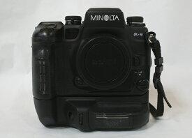 【中古】MINOLTA ミノルタ α-9 ボディ フィルムカメラ 一眼レフカメラ VC-9M付き