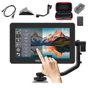 【PSE認証取得】Feelworld F6 Plus カメラビデオモニター、撮影モニター、液晶 モニター,3D LUTのサポートIPS FHD 1920x1080 4K HDM