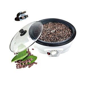 電動焙煎機 家庭用・業務用 キッチン家電 コーヒーロースターコーヒー生豆焙煎器electric coffee bean roaster ステンレス製 手動小