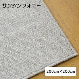 防音カーペット 防音マット サンシンフォニー 200cm×200cm