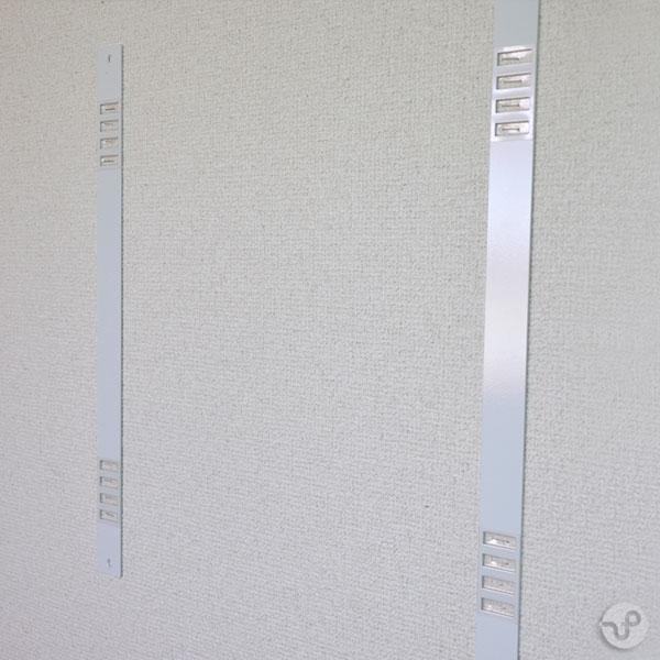 防音パネル・吸音パネルサウンドマイルド壁固定用壁掛用マグネットプレート 2枚入【送料別】