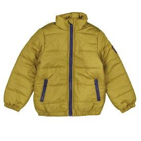 16aec2c05cf88 男の子 キッズ 中綿 ジャケット シンプル無地 ジャンパー 防寒 男児 (マスタード 110cm 120cm 130cm) ボーイズ