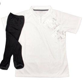【メール便 送料無料】 パーソンズ 半袖Tシャツ アームカバー付 UVガード 紫外線対策 (ホワイト Sサイズ Mサイズ Lサイズ) レディース トップス半袖 全4色