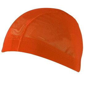 男女兼用メッシュ水泳帽(スイムキャップ) (オレンジ LLサイズ Sサイズ Mサイズ Lサイズ) ボーイズ キッズ 水着 全10色