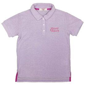 ガールズ ジュニア トップス半袖[PERASON'S]パーソンズ 半袖ポロシャツ パイル地 タオル生地 女の子 女児 子供用