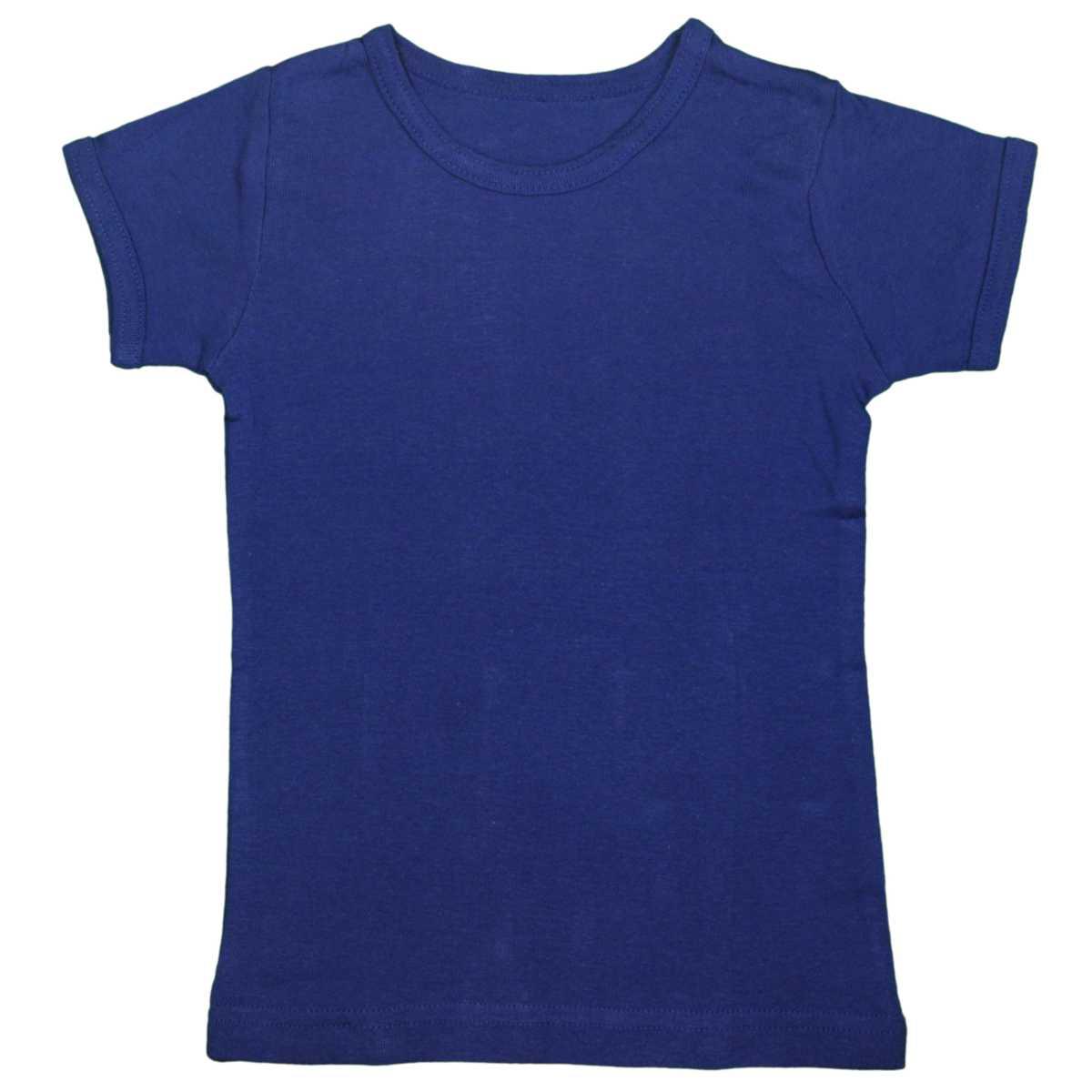 男女兼用 ベビー フライス肌着 綿100% 無地 半袖肌着シャツ おなまえネームつき 男の子 女の子 (ブルー 80cm 90cm 95cm) ボーイズ ベビー 下着 全5色