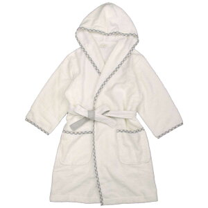 今治 タオル White(ホワイト) 今治バスローブ 綿 100% 大人用 ローブ ナイトガウン プレゼントにも (大人/グレー Fcm) ユニセックス タオル 全3色