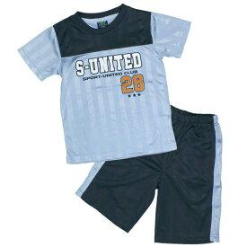 ボーイズ キッズ 上下セット[Perfect Dash]Tシャツハーフパンツ上下セット シャドーブリスター セットアップ Tスーツ運動会