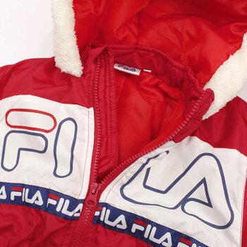 男女兼用キッズスキーウェア[FILAフィラ]中綿入りジャンプスーツ防寒つなぎスノーコンビ雪遊びカバーオール商品写真5
