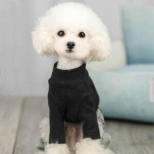 犬の服 Tシャツ デニム 小型犬用 春 秋 冬 かわいい おしゃれ ドッグウェア Tシャツ デニム セットアップ つなぎ 犬 猫 ペット (グレー/ブラック Sサイズ Mサイズ Lサイズ) 犬服 犬服 全2色