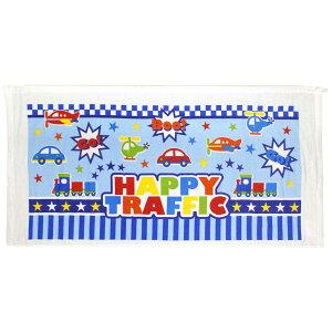 男の子 ラップタオル巻きタオル 水泳 プール スイミング のりもの柄 着替えタオル バスタオル (ホワイト/サックス 60x120cm) ボーイズ キッズ 水着 全1色