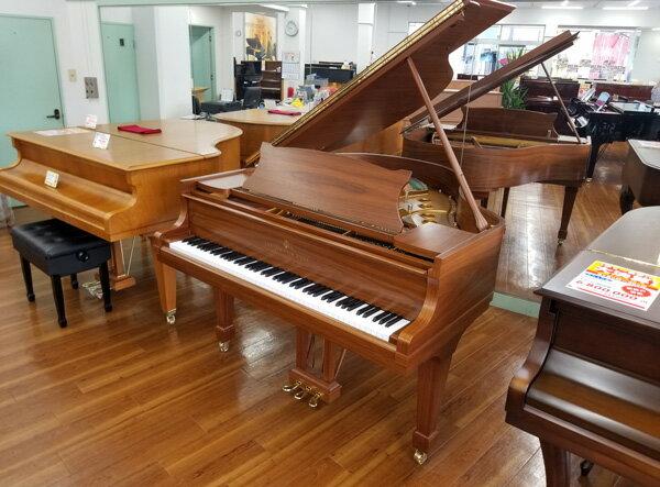 SALE STEINWAY&SONS【中古】 スタインウェイ ピアノ S155 #566981【木目ピアノ】