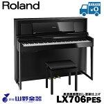 RolandLX706-PES/黒塗鏡面艶出し塗装仕上げ