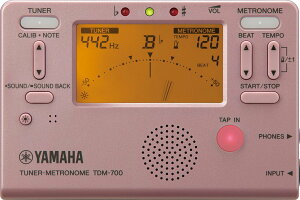 YAMAHA チューナーメトロノーム TDM-700P / ピンク[ヤマハ][4957812626026]【送料無料】【smtb-u】