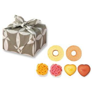 引き菓子結心‐yui-幸福の小包(七宝)/YUI-10G(引き菓子 バームクーヘン 引き出物 引出物 内祝い ギフト 結婚式 ウェディング ウエディング 出産内祝い お返し 快気祝い ホワイトデー★2020)