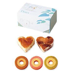 引き菓子おいしいデニッシュハート&ふんわりバウムC(引き菓子 バームクーヘン 引き出物 引出物 結婚式 ウェディング ウエディング)
