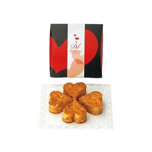 引き菓子よつ葉のハートデニッシュ(メープル)/HD1-10A(引き菓子 引き出物 引出物 内祝い 結婚式 ウェディング ウエディング 出産内祝い ホワイトデー★2020)
