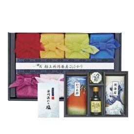【送料無料】初代田蔵 新潟県産こしひかり(8個入)贅沢リッチギフトセット2(お祝い2020食品ギフト)