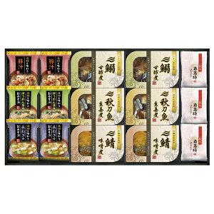 三陸産煮魚&おみそ汁・梅干しセットE(夏ギフト2021グルメ )
