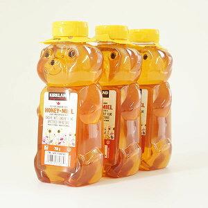 カークランドシグネチャー はちみつ ベアージャグ 750g x 3本COSTCO コストコ Kirkland Signature ベアージャグ ハチミツ 100%純ハチミツ カナダ産 はちみつ 蜂蜜 かわいい くま 熊 クマ ベアー 大容量