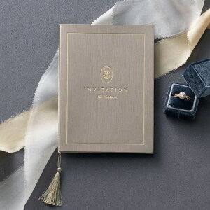 招待状 Rochelle Classic line Bronze ash -ロシェルクラシックライン ブロンズアッシュ- 招待状【10冊入り】(結婚式 ペーパーアイテム 手作りキット テンプレート ウェディング ブライダル パーティ