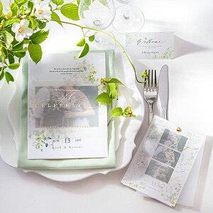 席札無料セット(トレーシア フローリス)結婚式 ペーパーアイテム 手作りキット テンプレート ウェディング ブライダル パーティー