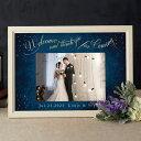 フォトグラフィックボード(スカイスターリー)結婚式 ギフト お祝い 披露宴 ウェディング ウエルカムスペース ナイト…
