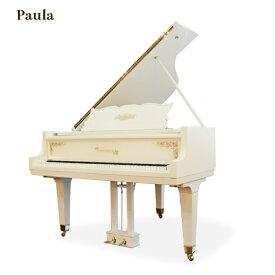EASTEIN(日本製)_【ポーラ・Paula】(中古ピアノ/白いグランドピアノ)椅子・インシュレーター付き♪