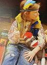 【デニム&ダンガリー DENIM DUNGAREE】裏毛 MICKEY 袖ガッタイ スウェット (01-02)【3778450】【10月】